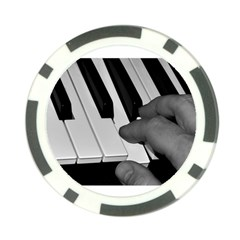 The Piano Player Poker Chip Card Guards (10 Pack)