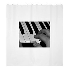 The Piano Player Shower Curtain 66  x 72  (Large)