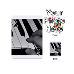 The Piano Player Playing Cards 54 (Mini)