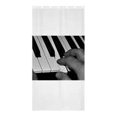 The Piano Player Shower Curtain 36  x 72  (Stall)