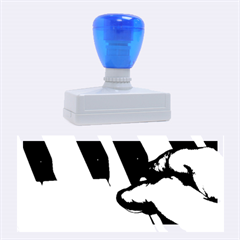 The Piano Player Rubber Stamps (large)