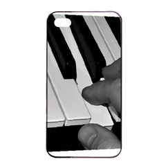 The Piano Player Apple iPhone 4/4s Seamless Case (Black)