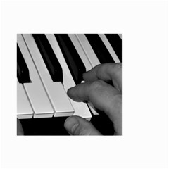 The Piano Player Small Garden Flag (Two Sides)