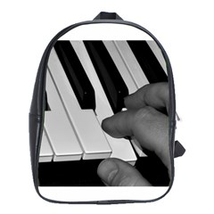 The Piano Player School Bags (xl)