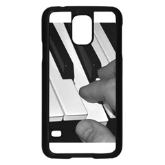 The Piano Player Samsung Galaxy S5 Case (black)