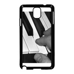 The Piano Player Samsung Galaxy Note 3 Neo Hardshell Case (Black)