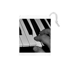 The Piano Player Drawstring Pouches (Small)