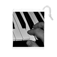 The Piano Player Drawstring Pouches (Large)