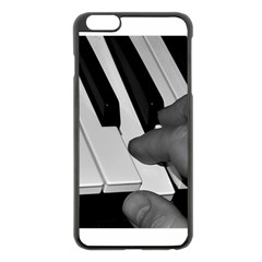 The Piano Player Apple iPhone 6 Plus Black Enamel Case