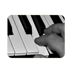 The Piano Player Double Sided Flano Blanket (mini)