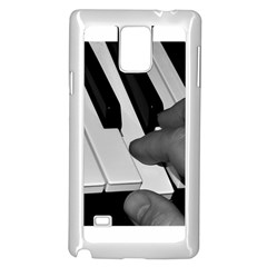 The Piano Player Samsung Galaxy Note 4 Case (White)