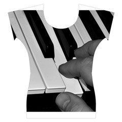 The Piano Player Women s Cap Sleeve Top