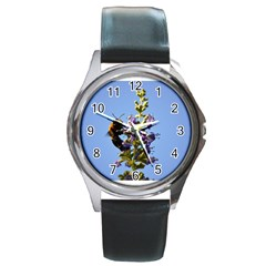 Bumble Bee 1 Round Metal Watches