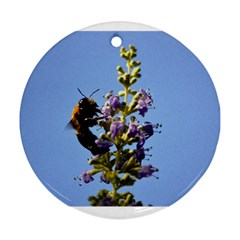 Bumble Bee 1 Ornament (round)