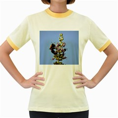 Bumble Bee 1 Women s Fitted Ringer T-Shirts