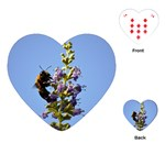 Bumble Bee 1 Playing Cards (Heart)  Front