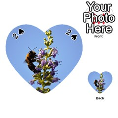 Bumble Bee 1 Playing Cards 54 (heart)