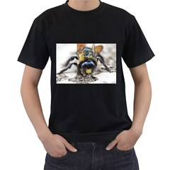 Bumble Bee 2 Men s T Shirt (black) (two Sided)