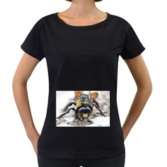 Bumble Bee 2 Women s Loose-Fit T-Shirt (Black)