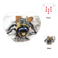 Bumble Bee 2 Playing Cards (Heart)