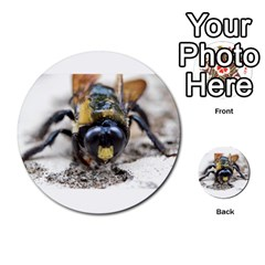 Bumble Bee 2 Multi-purpose Cards (Round)