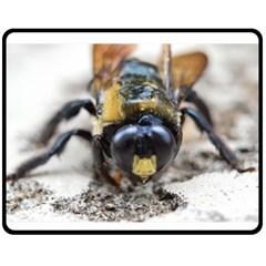 Bumble Bee 2 Fleece Blanket (Medium)