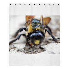 Bumble Bee 2 Shower Curtain 60  x 72  (Medium)