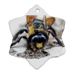 Bumble Bee 2 Snowflake Ornament (2-Side)