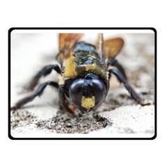 Bumble Bee 2 Double Sided Fleece Blanket (Small)