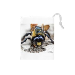 Bumble Bee 2 Drawstring Pouches (small)