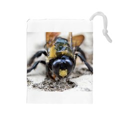 Bumble Bee 2 Drawstring Pouches (large)