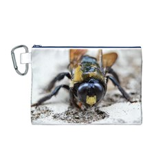Bumble Bee 2 Canvas Cosmetic Bag (M)