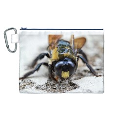 Bumble Bee 2 Canvas Cosmetic Bag (l)