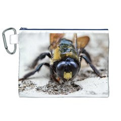 Bumble Bee 2 Canvas Cosmetic Bag (XL)