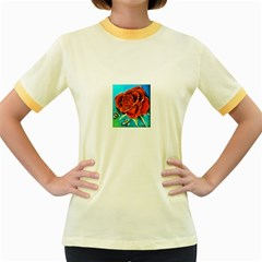 Bumble Bee 3 Women s Fitted Ringer T Shirts