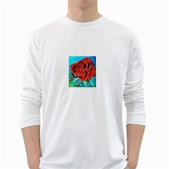 Bumble Bee 3 White Long Sleeve T-Shirts