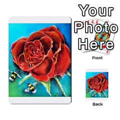Bumble Bee 3 Multi Purpose Cards (rectangle)