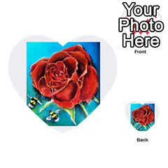 Bumble Bee 3 Multi-purpose Cards (Heart)
