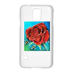 Bumble Bee 3 Samsung Galaxy S5 Case (white)
