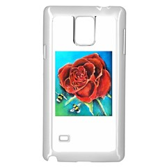 Bumble Bee 3 Samsung Galaxy Note 4 Case (White)