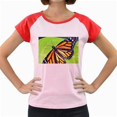 Butterfly 2 Women s Cap Sleeve T Shirt