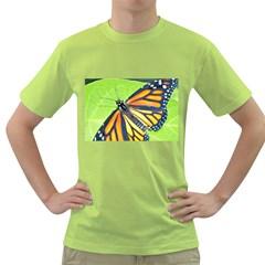 Butterfly 2 Green T-Shirt