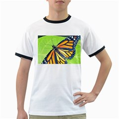Butterfly 2 Ringer T-Shirts