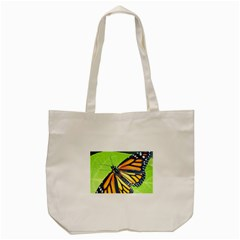 Butterfly 2 Tote Bag (Cream)