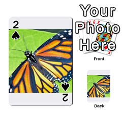 Butterfly 2 Playing Cards 54 Designs
