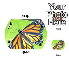 Butterfly 2 Playing Cards 54 (Round)
