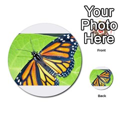 Butterfly 2 Multi-purpose Cards (Round)