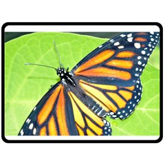 Butterfly 2 Fleece Blanket (large)