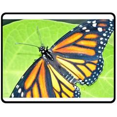 Butterfly 2 Fleece Blanket (medium)