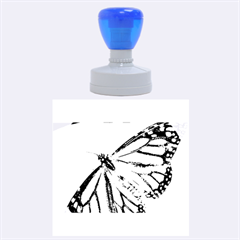 Butterfly 2 Rubber Round Stamps (Large)
